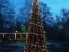 новогодишната елха в центъра на Хисаря